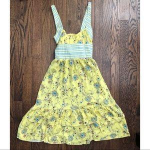 Free People Boho Floral Dress